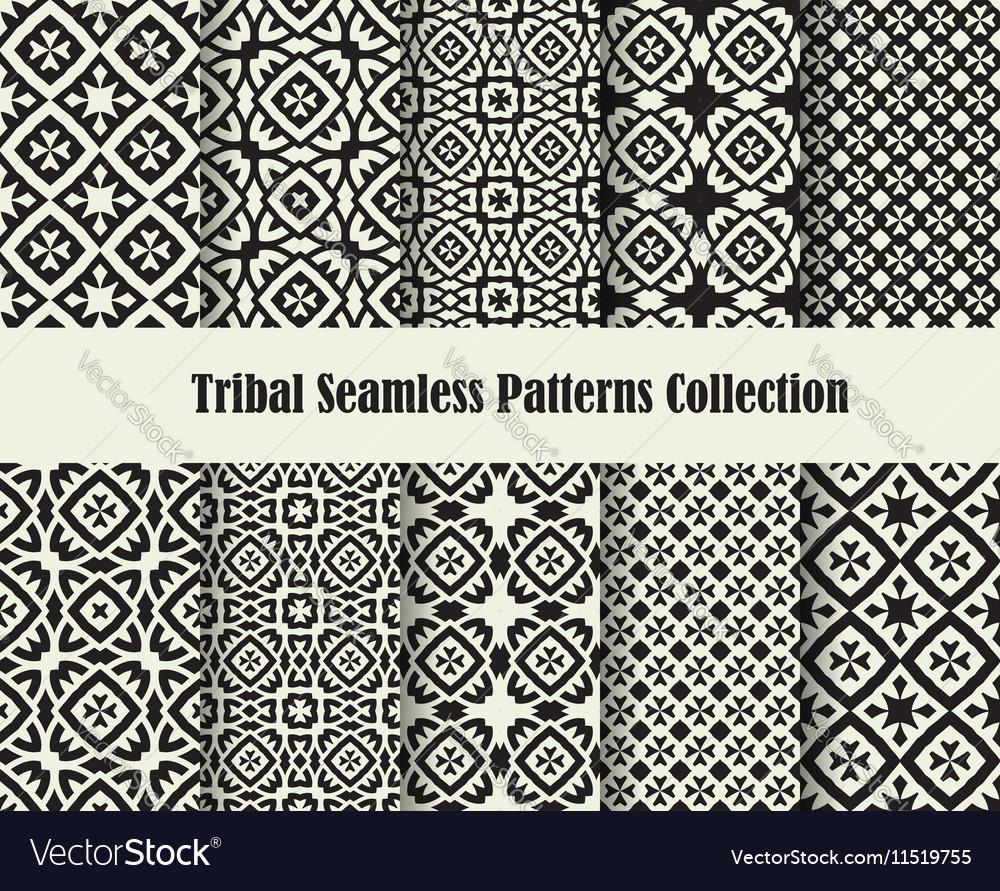 Tribal cross ornament