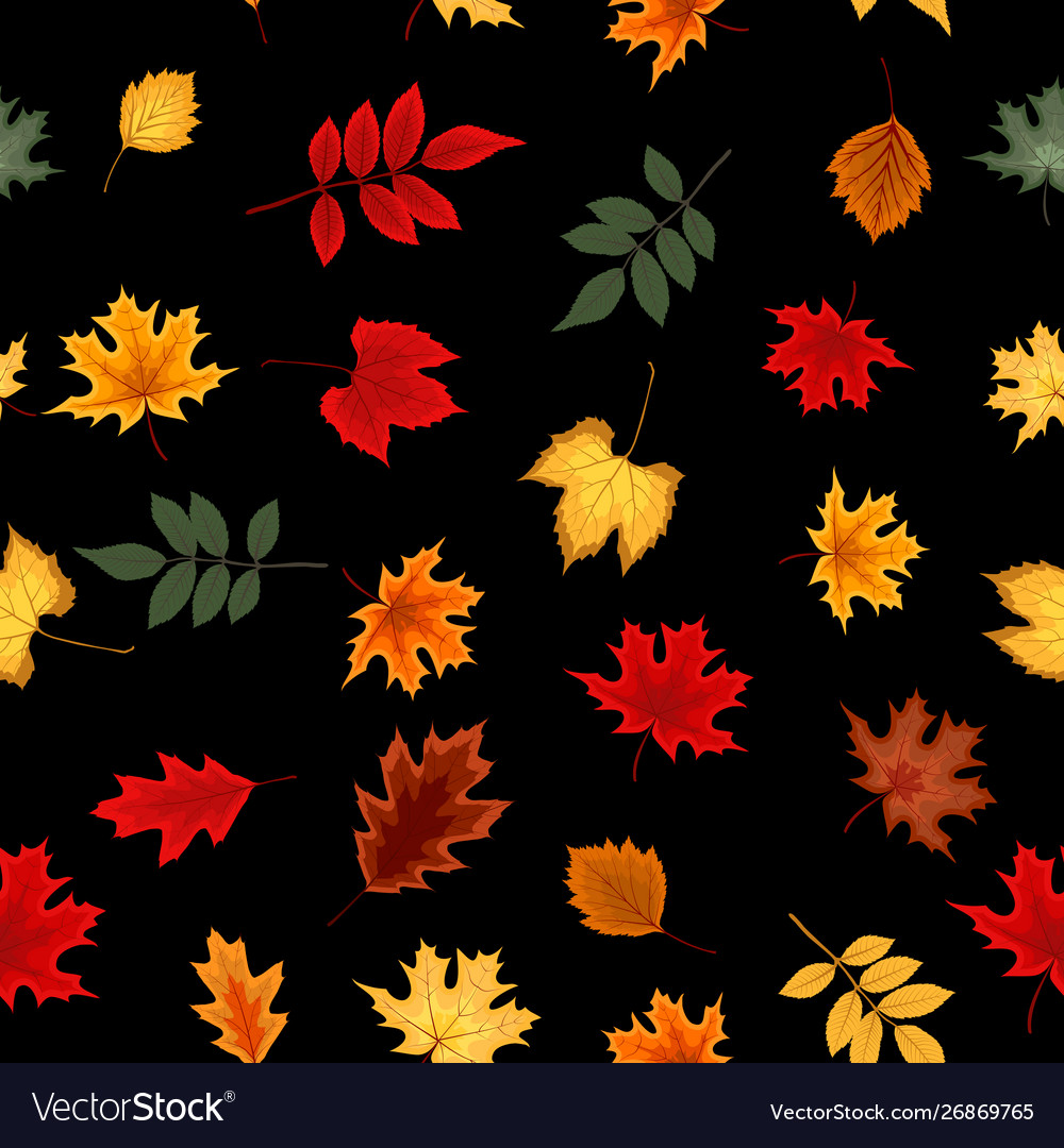 Abstract seamless pattern background with falling
