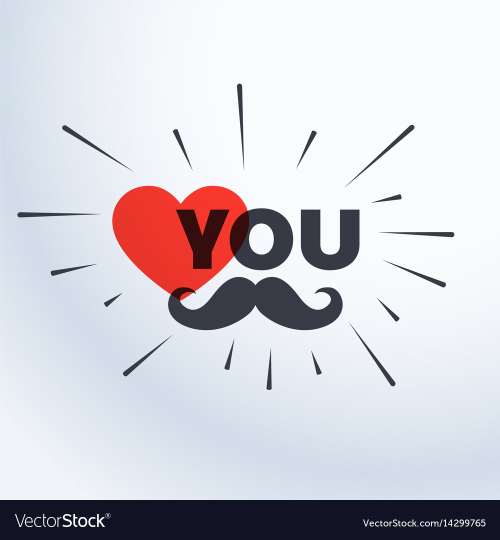 Love you father card template