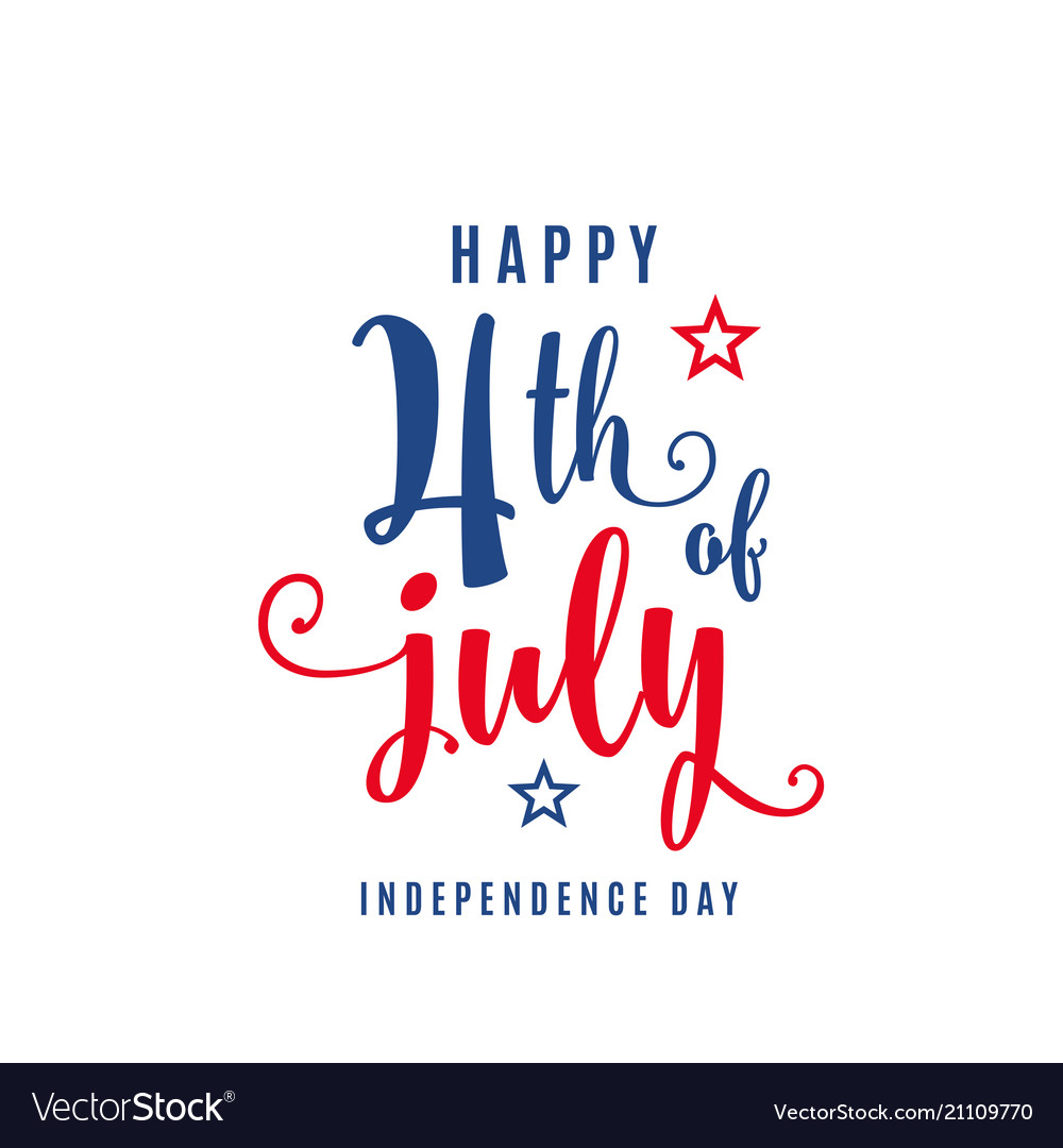 4th of july celebration holiday banner usa