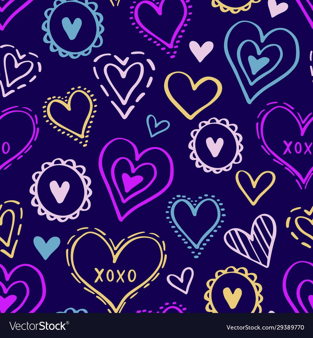 Hearts pattern love new-03