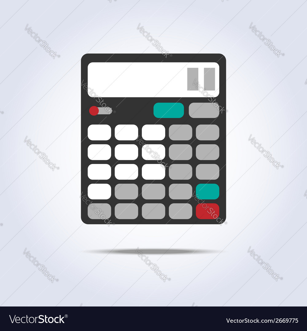 Calculator simple icon