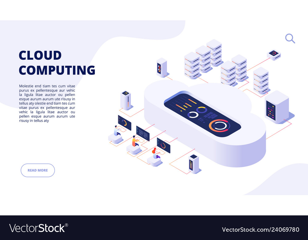 Cloud computing online backup secure computer