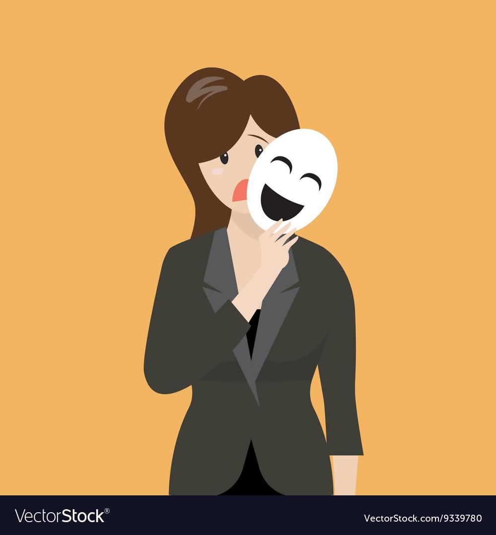 fake smile mask