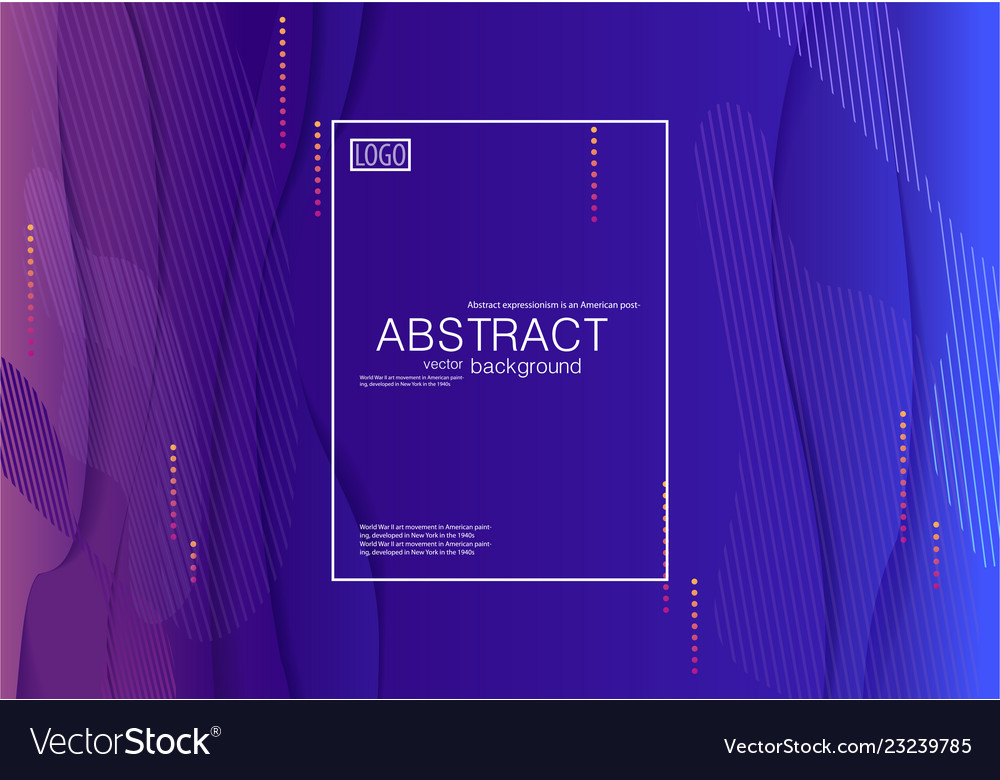 Abstract modern background blue gradient
