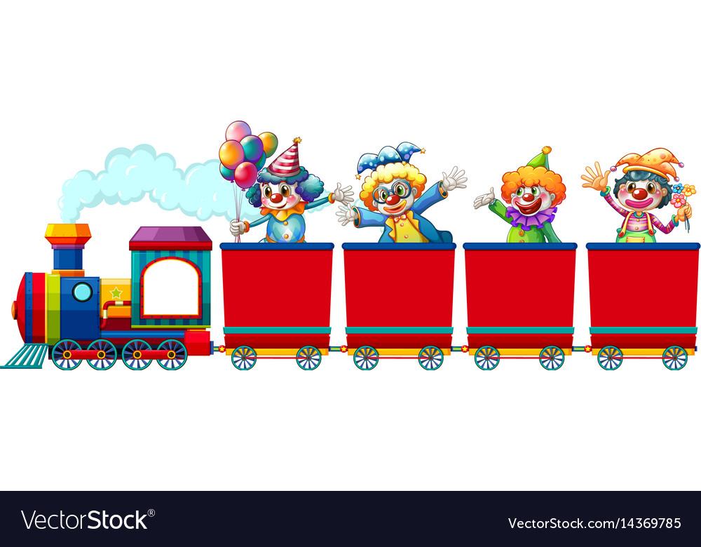 clowns-riding-on-train-vector-14369785.j