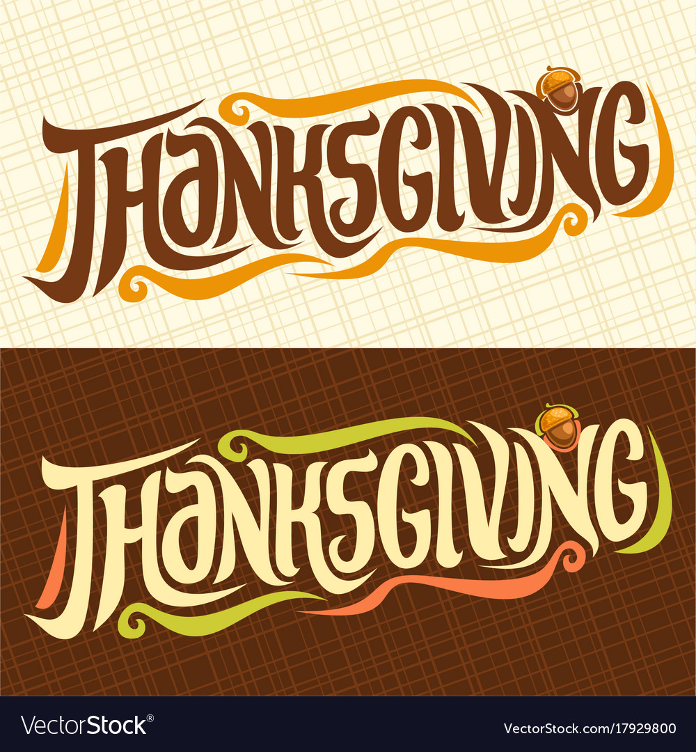 Banners for thanksgiving