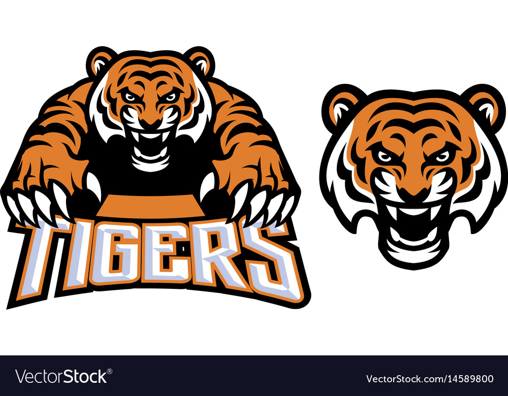 crawling tiger royalty free vector image vectorstock