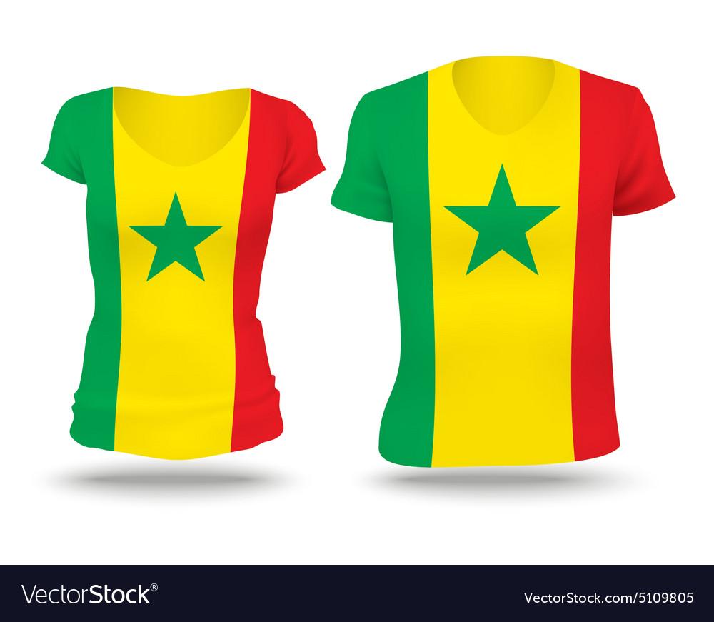 130f369d641 Flag shirt design of Senegal Royalty Free Vector Image