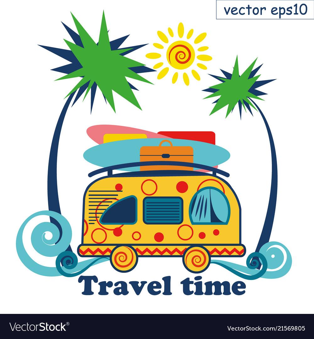 Travel summer van