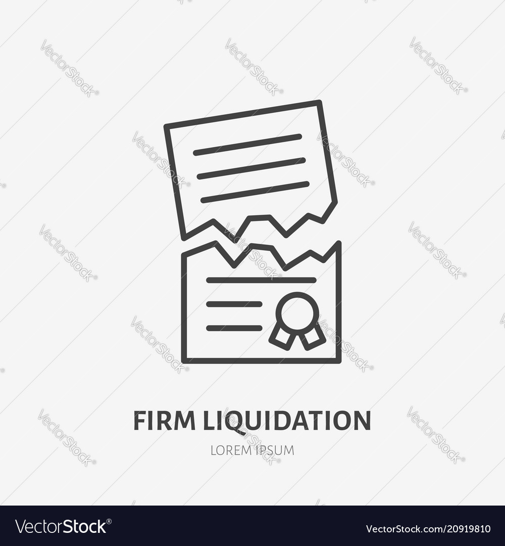 What is the Liquidation of the Firm