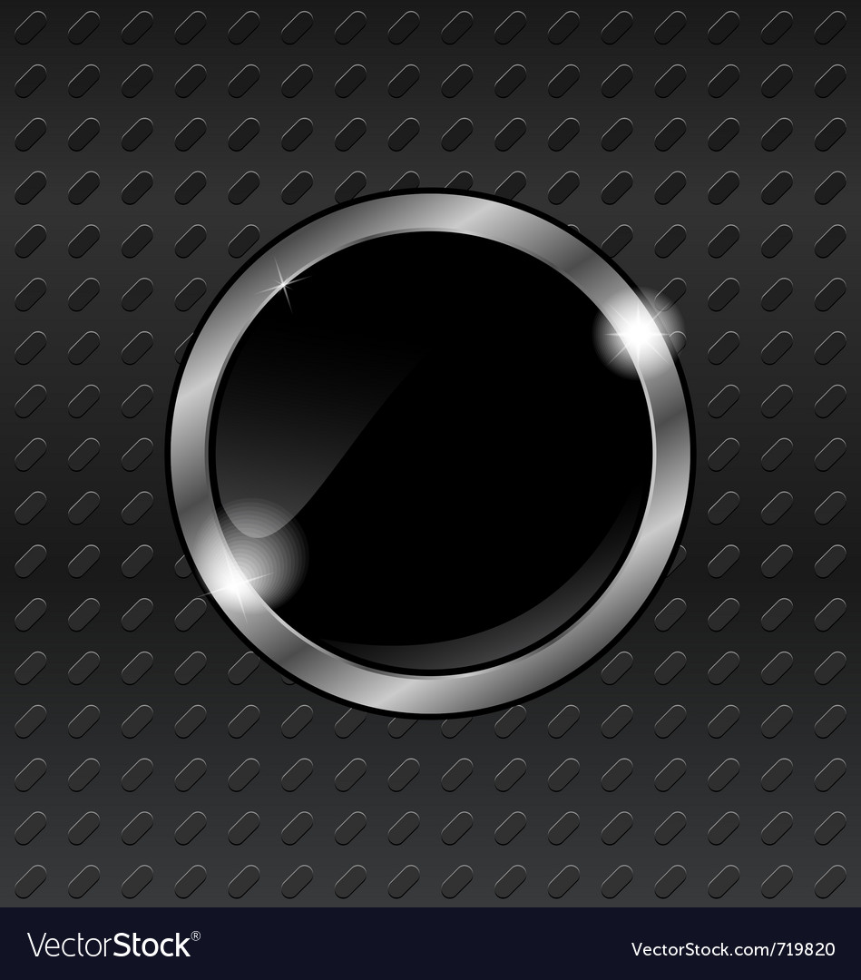 Speech bubbles on titanium background vector image