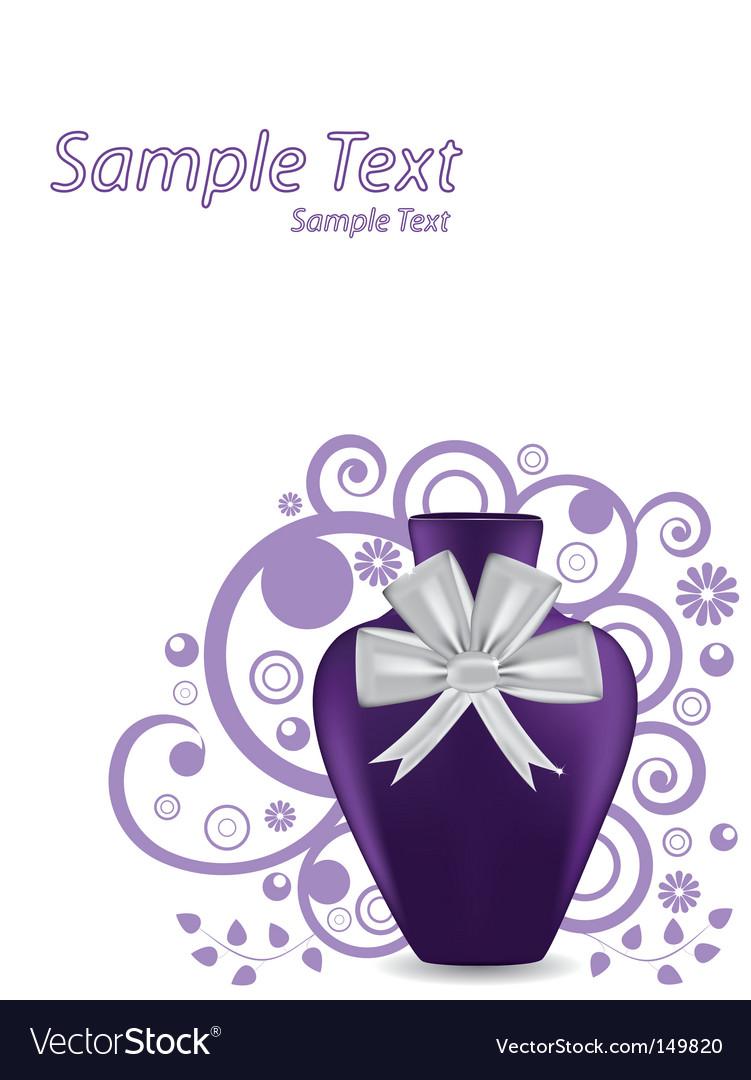 vase template page royalty free vector image vectorstock
