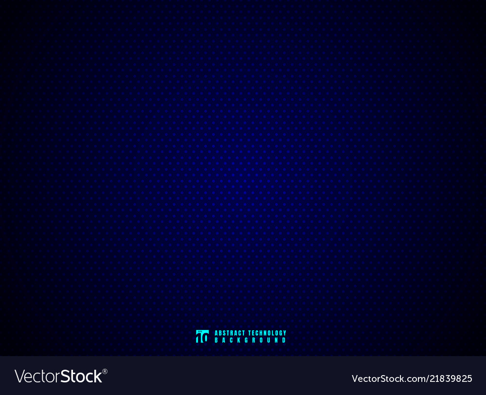 Abstract dots pattern on blue background