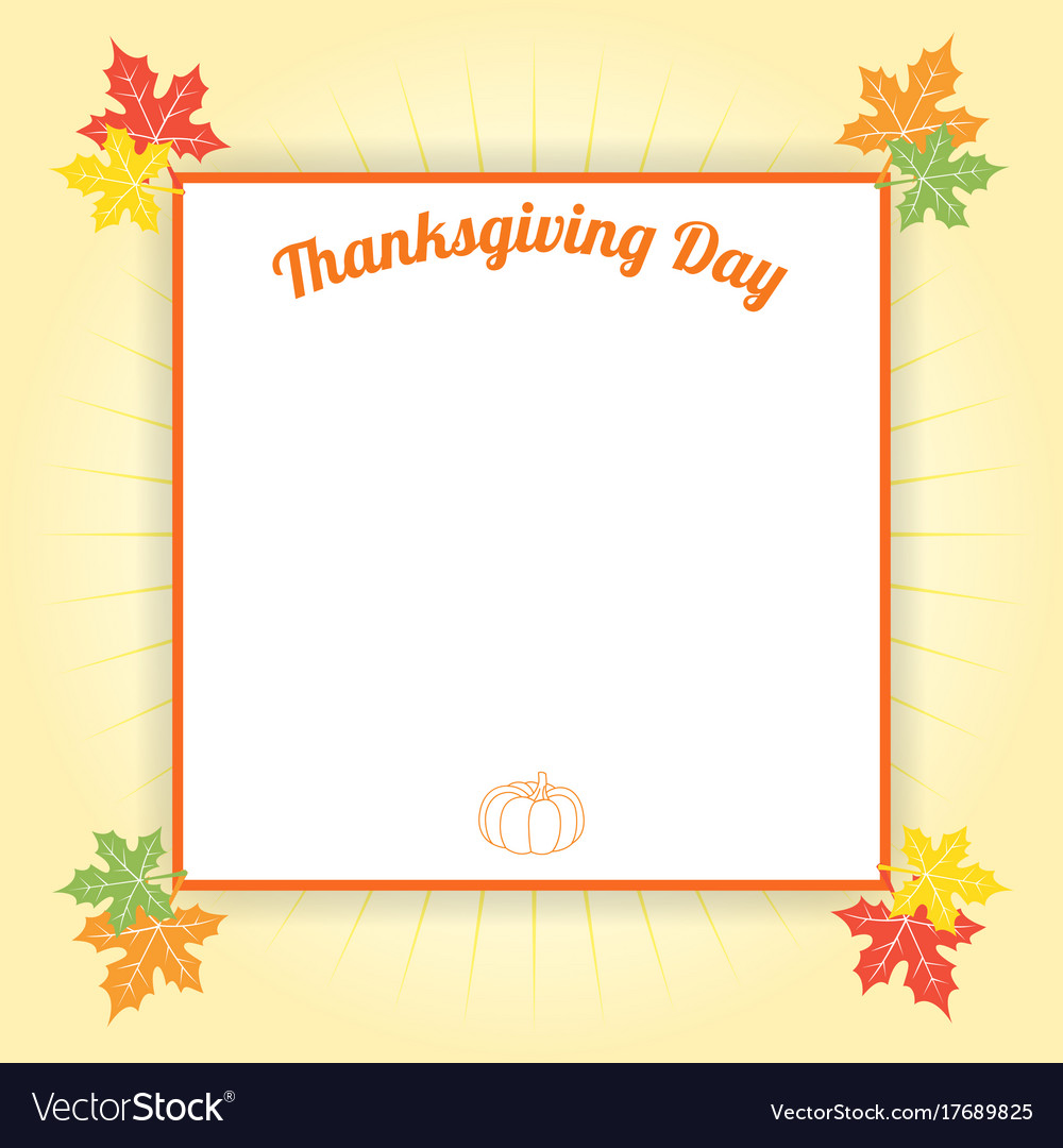 Happy thanksgiving day celebration background and