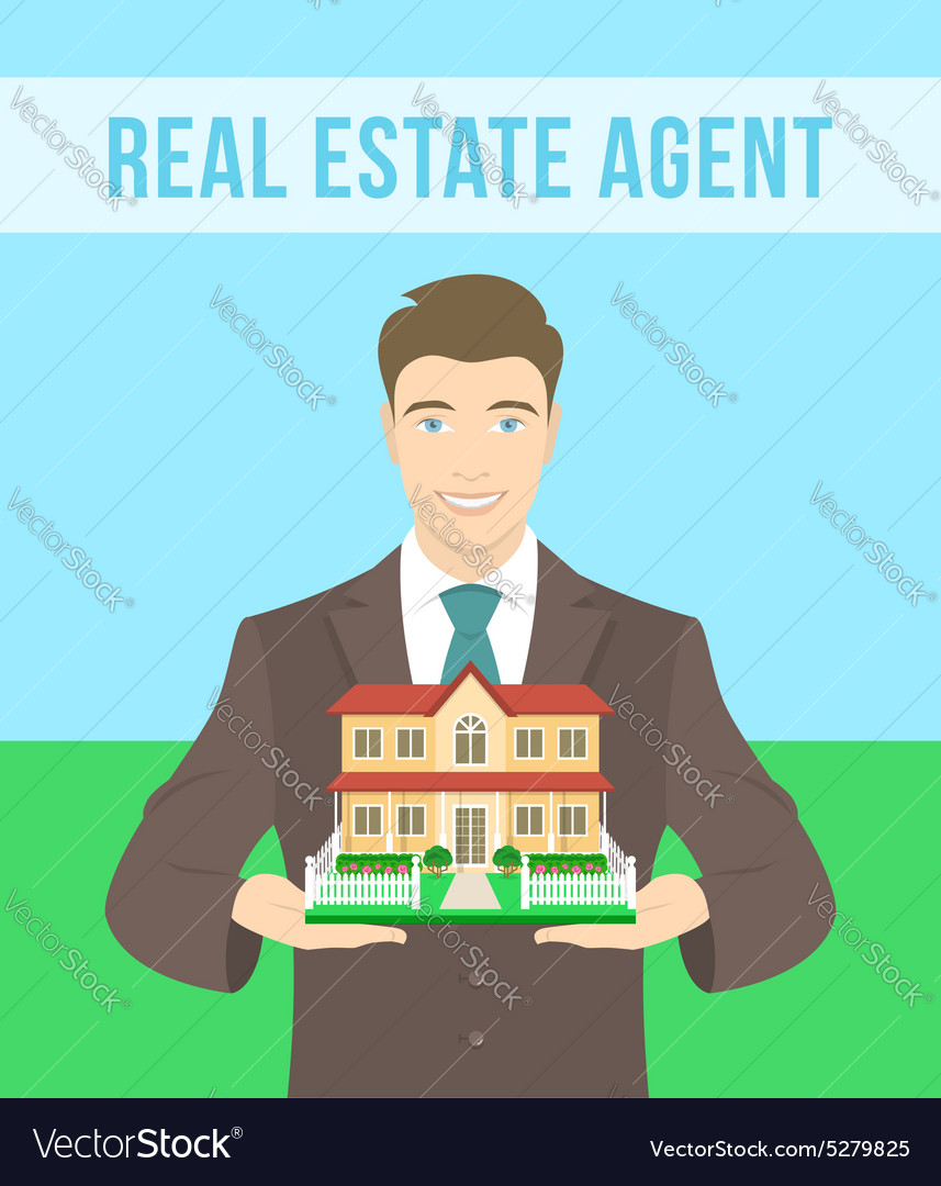 Real Estate Agent Offers a House
