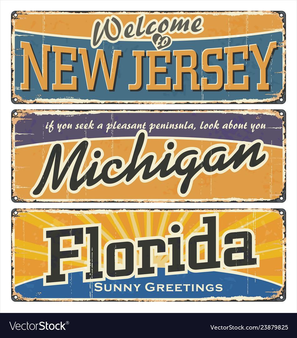Retro souvenirs or old paper postcard