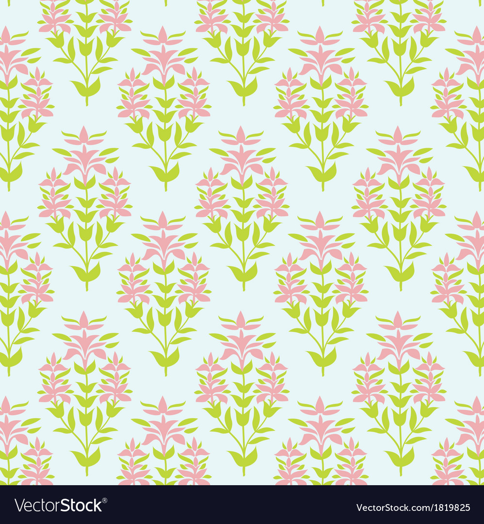 Seamless floral texture Background with lily