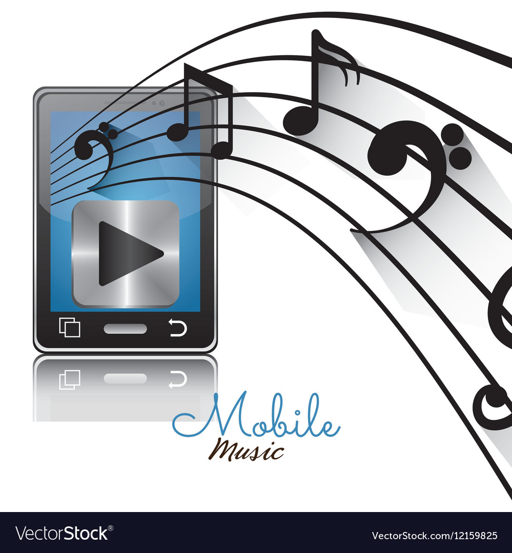 Smartphone player mobile note music