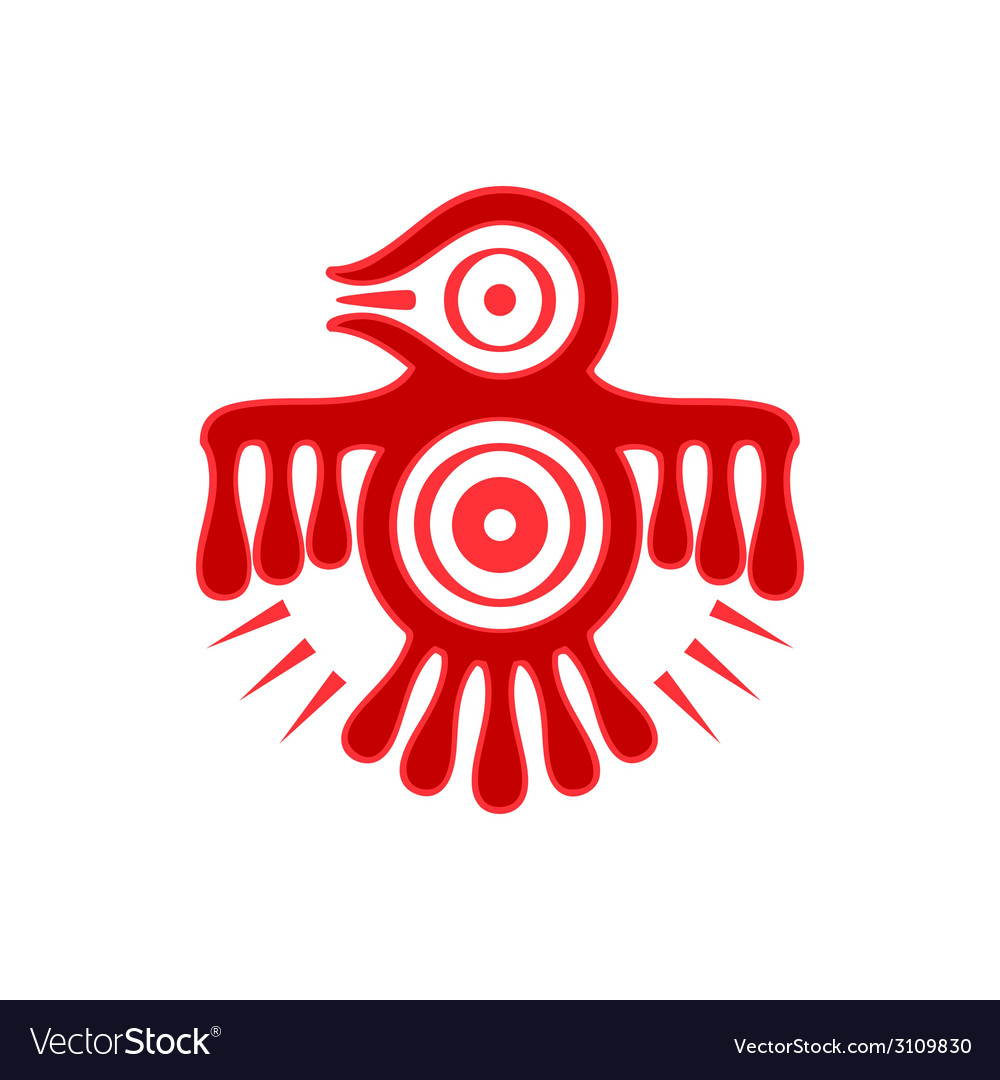 Aztec spirit bird