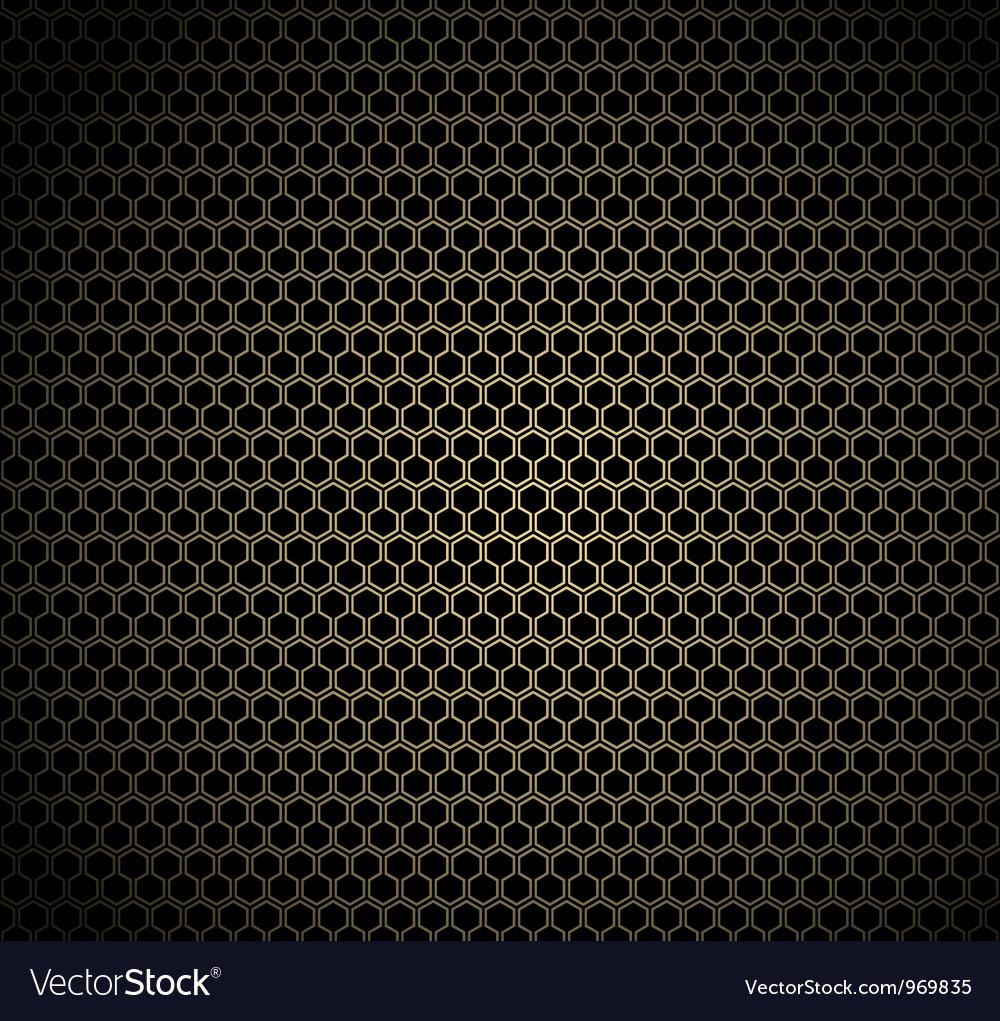 Gold honeycomb background