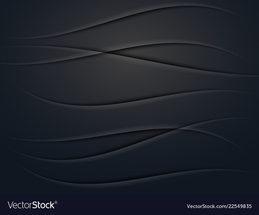 Vecnor black abstract background with realistic