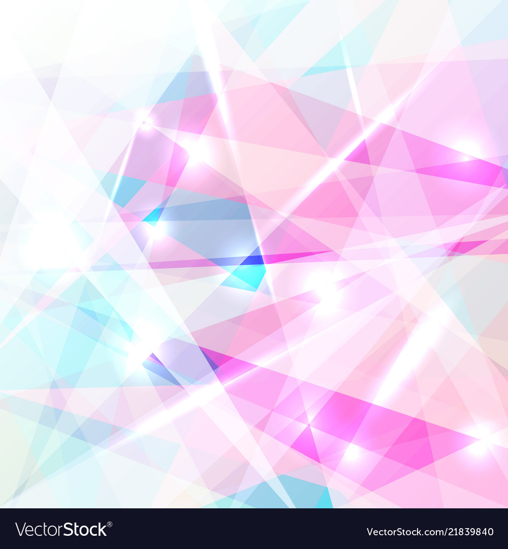 Abstract geometric colorful low polygon