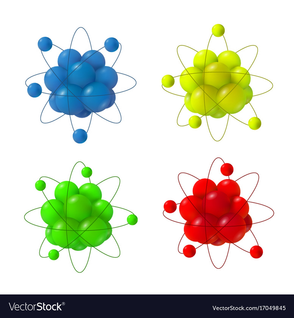 3d abstract atom structure royalty free vector image 3d abstract atom structure vector image ccuart Images