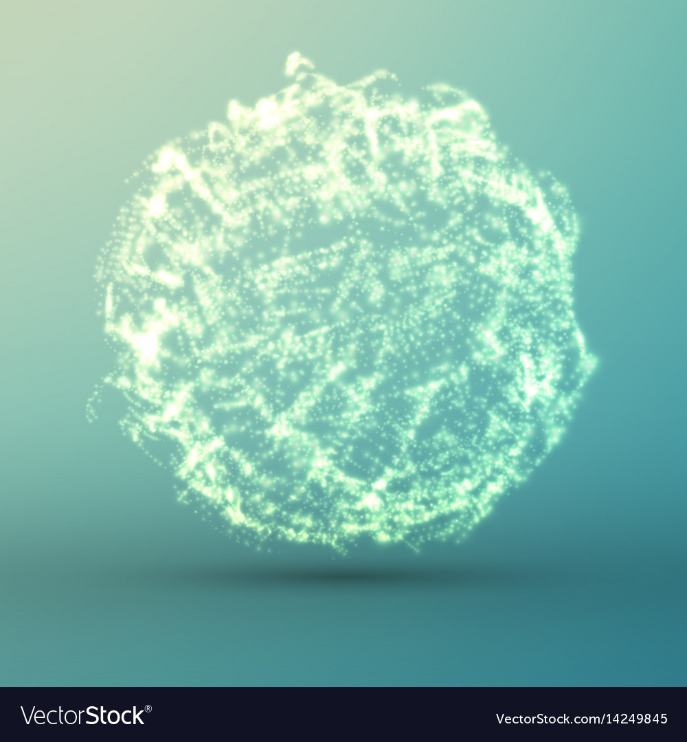 Abstract light blue mesh background