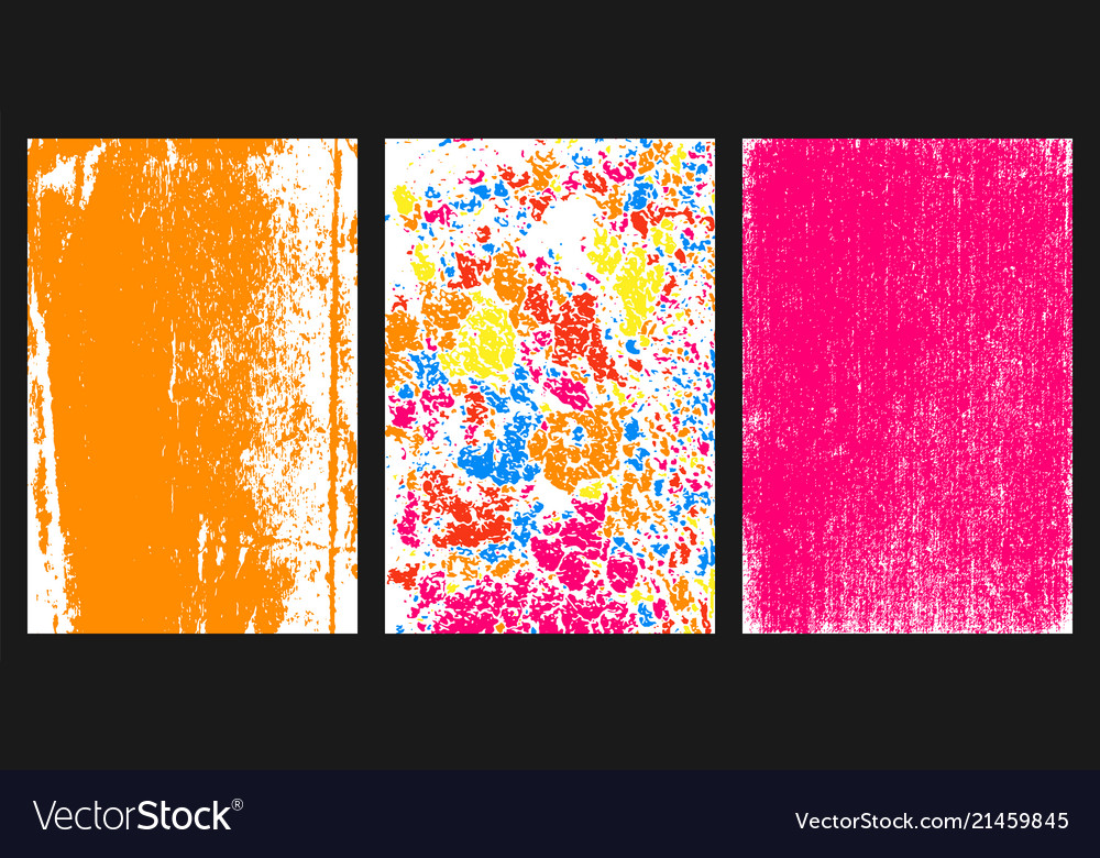 Colored grunge texture