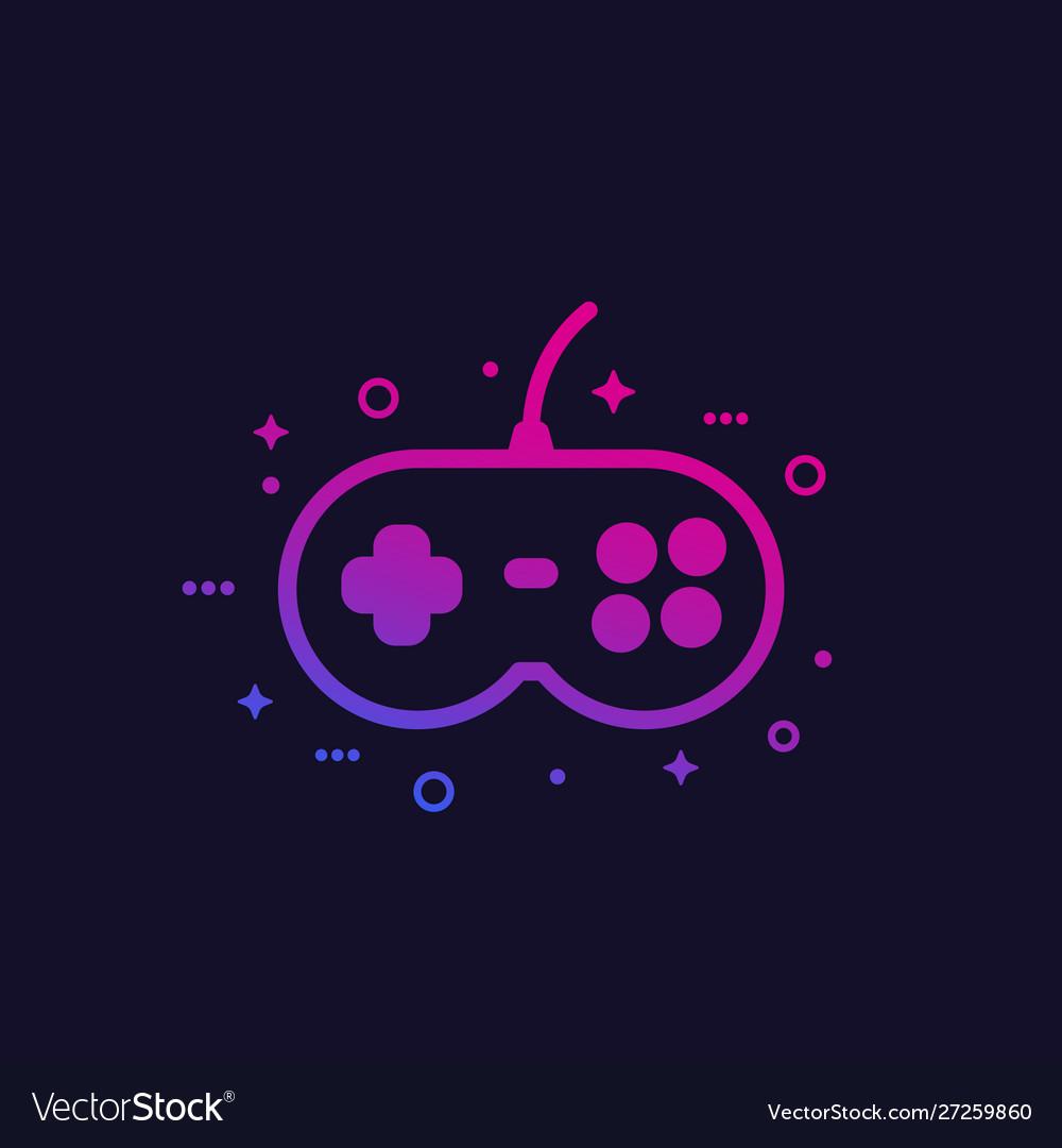 Games gamepad icon