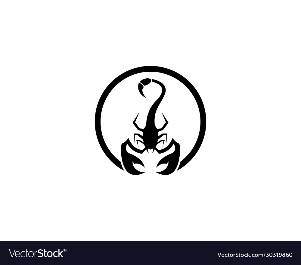 Scorpion symbol icon