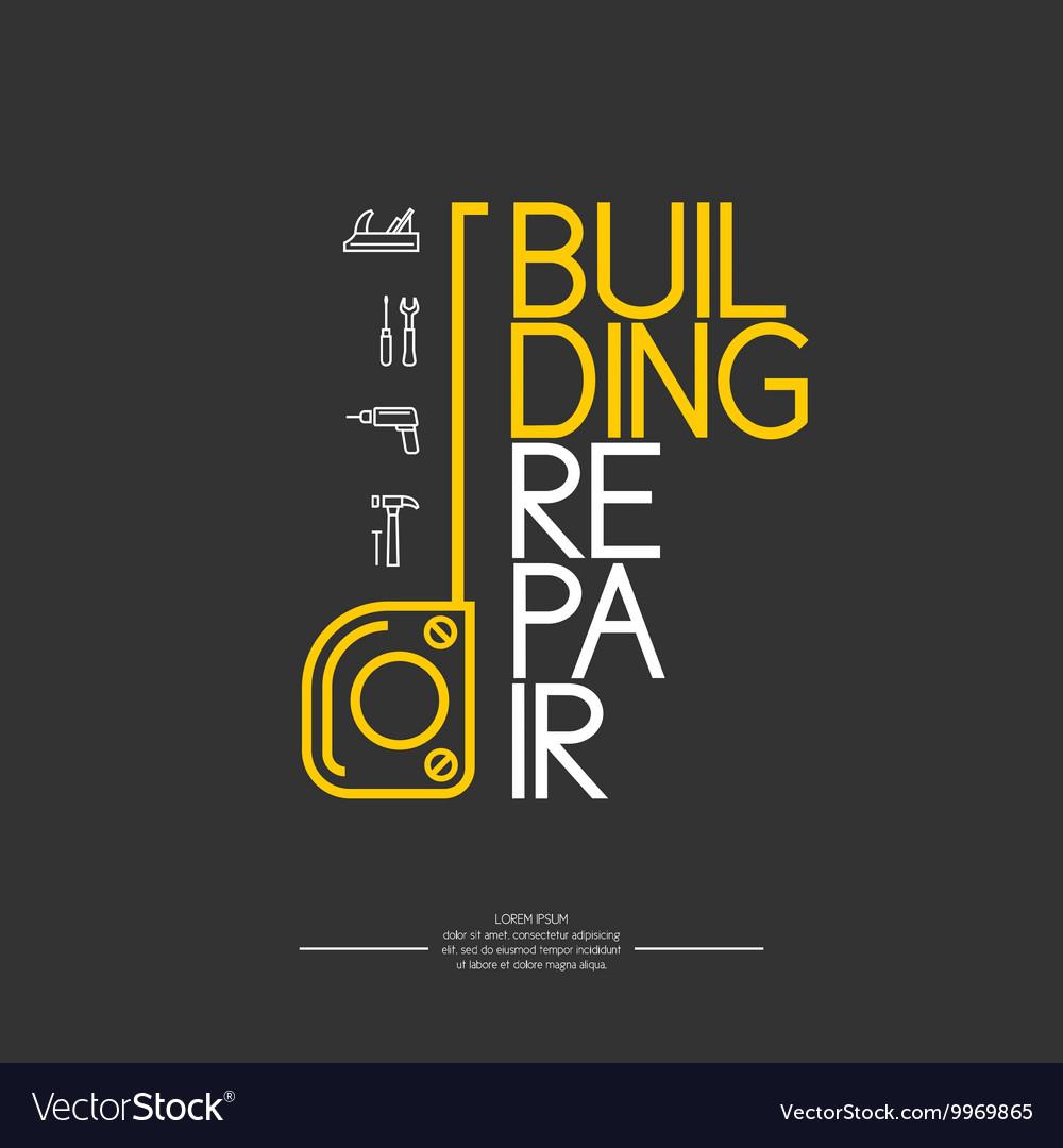 Building Repair Infographics