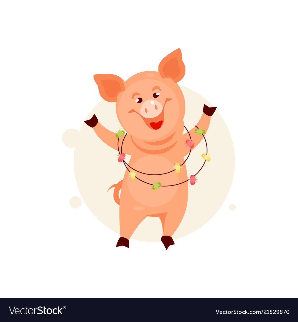Christmas Pig.Christmas Pig