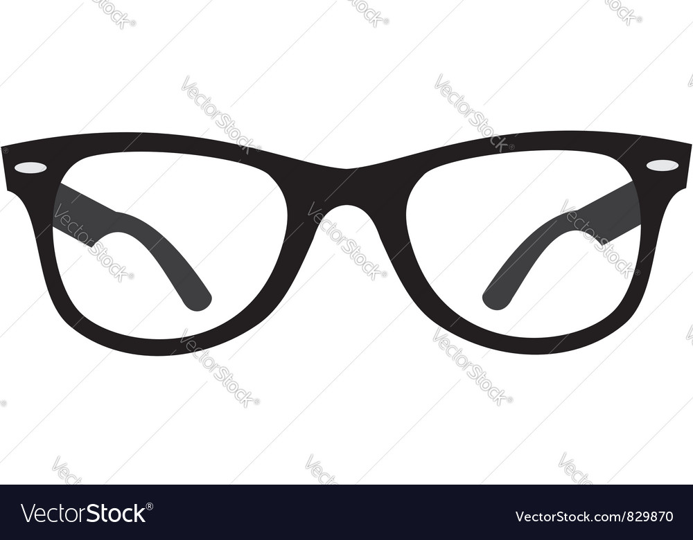 Glasses Ray Ban vector image