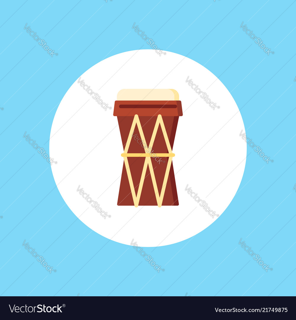 Drum icon sign symbol