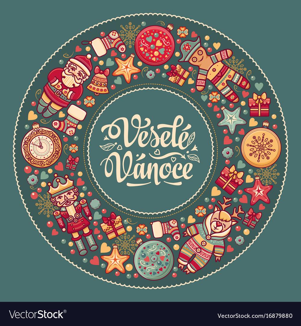Vesele vanoce xmas in the czech republic