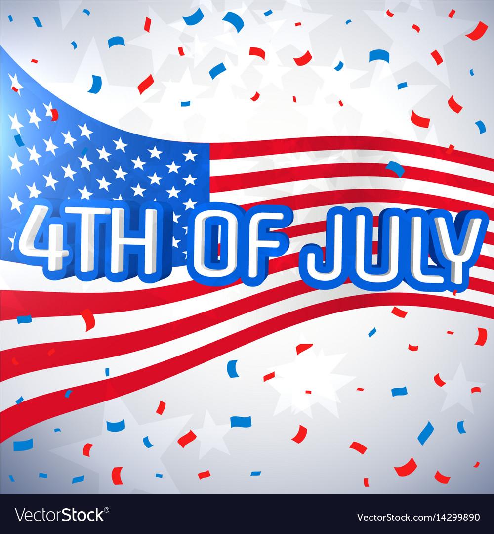 4th july celebration background