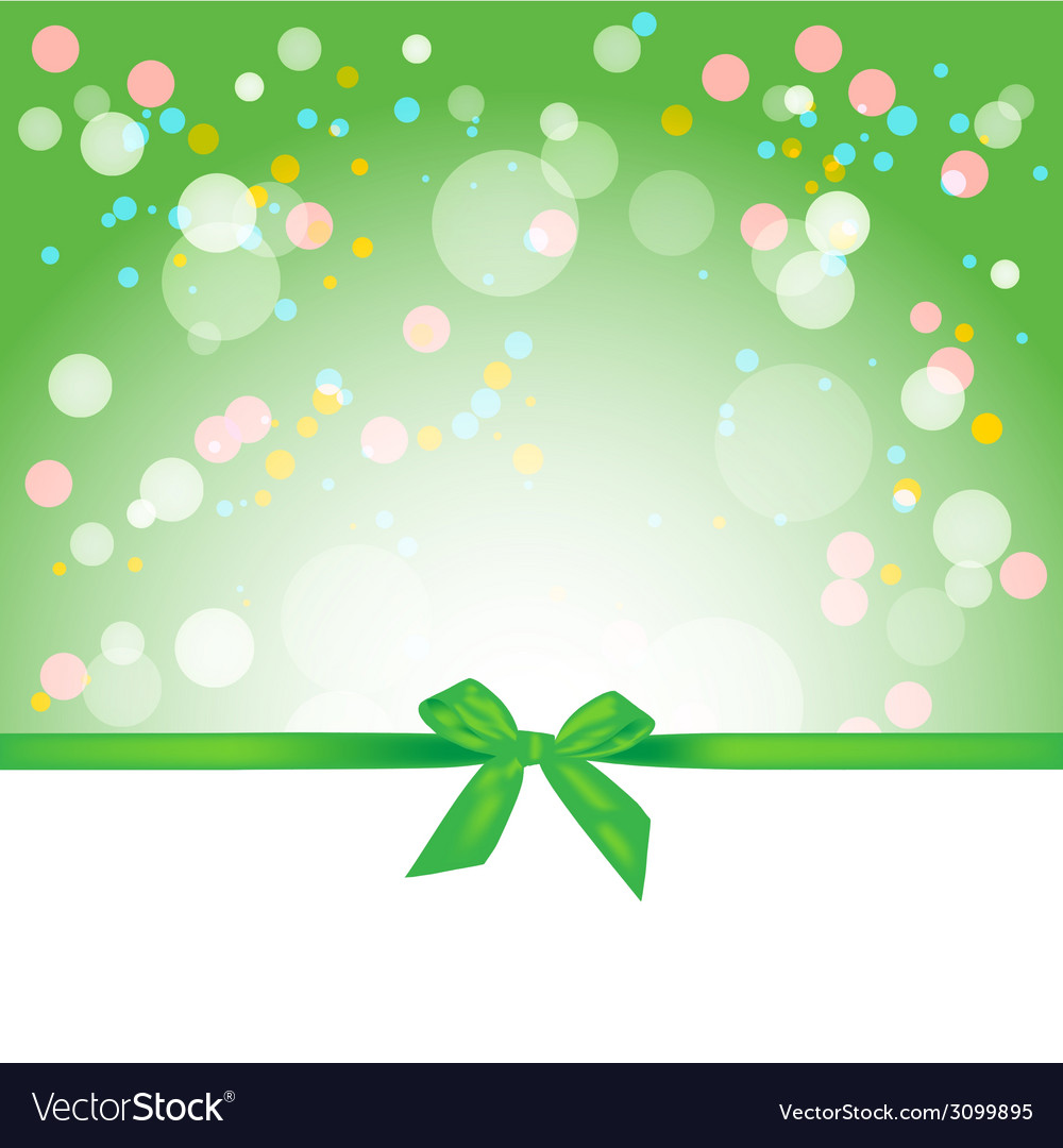 Abstract Spring Background Gift Card Royalty Free Vector