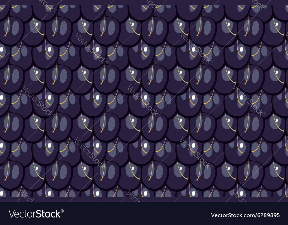 Seamless pattern blackberry texture