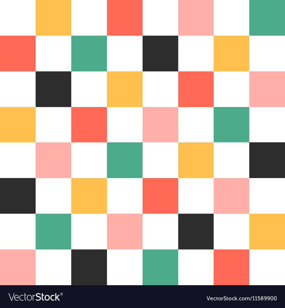 Colorful Chess Board Background