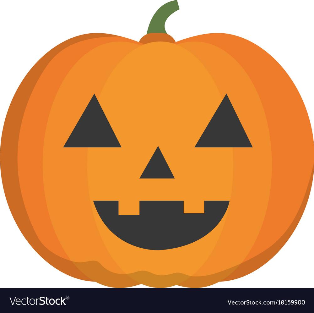 halloween pumpkin icon royalty free vector image