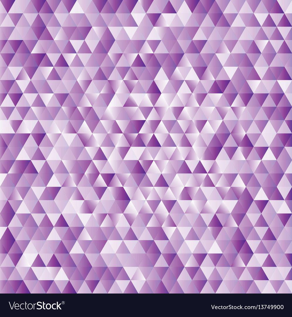 Lilac abstract triangles background