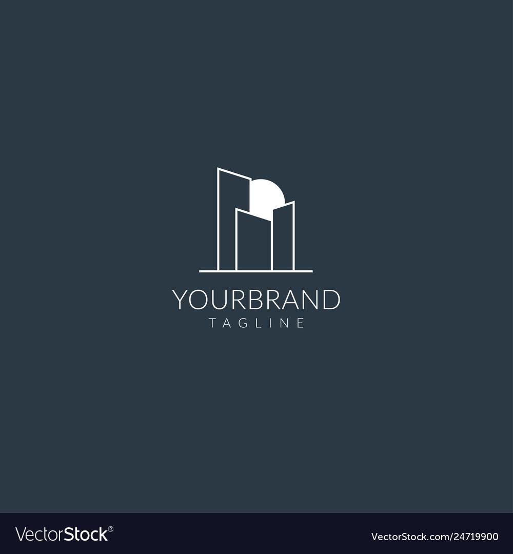 Town logo template