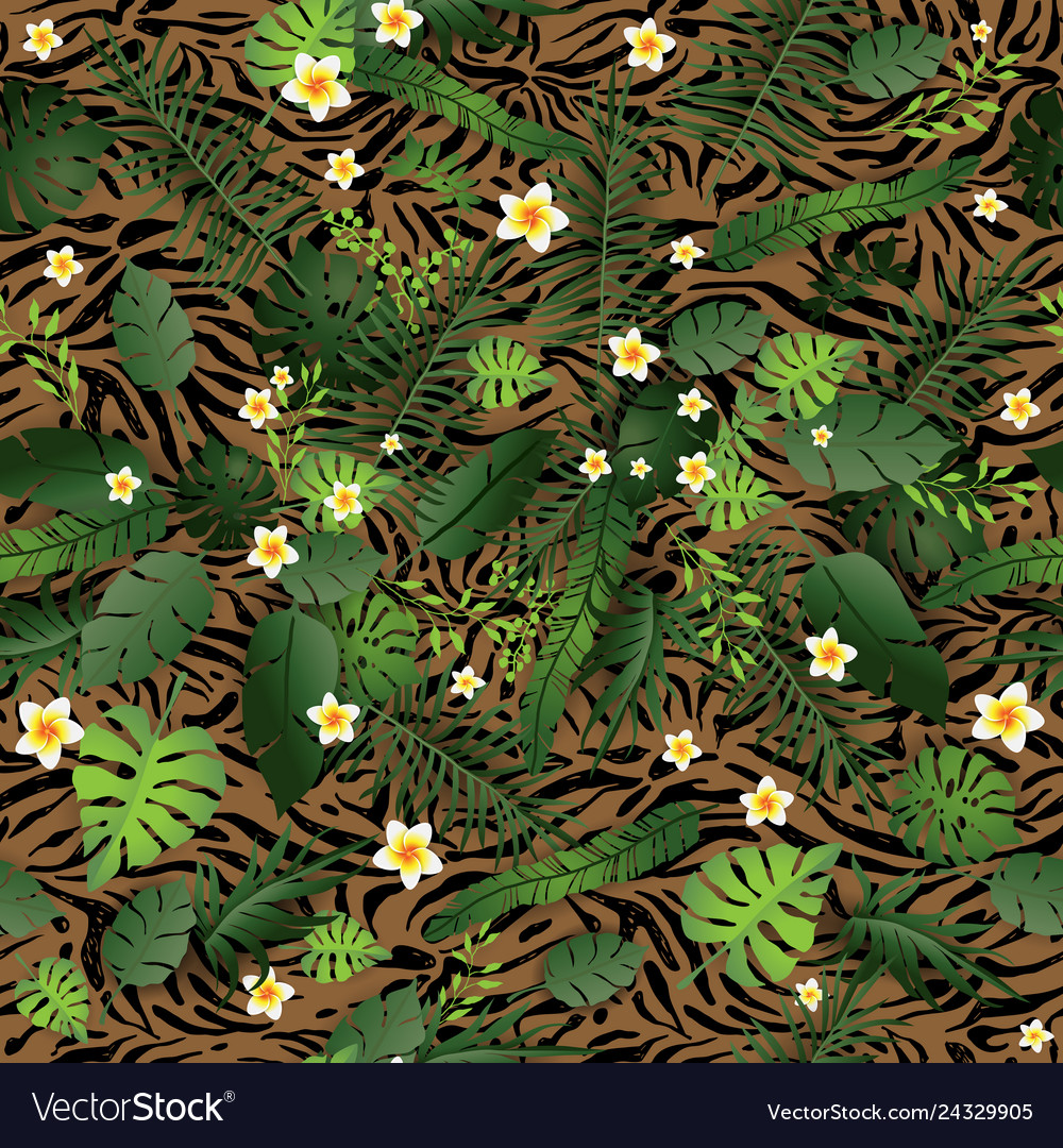 Pattern exotic and animal background