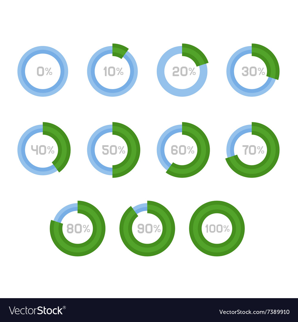 Circle diagram pie charts infographic elements vector image ccuart Image collections