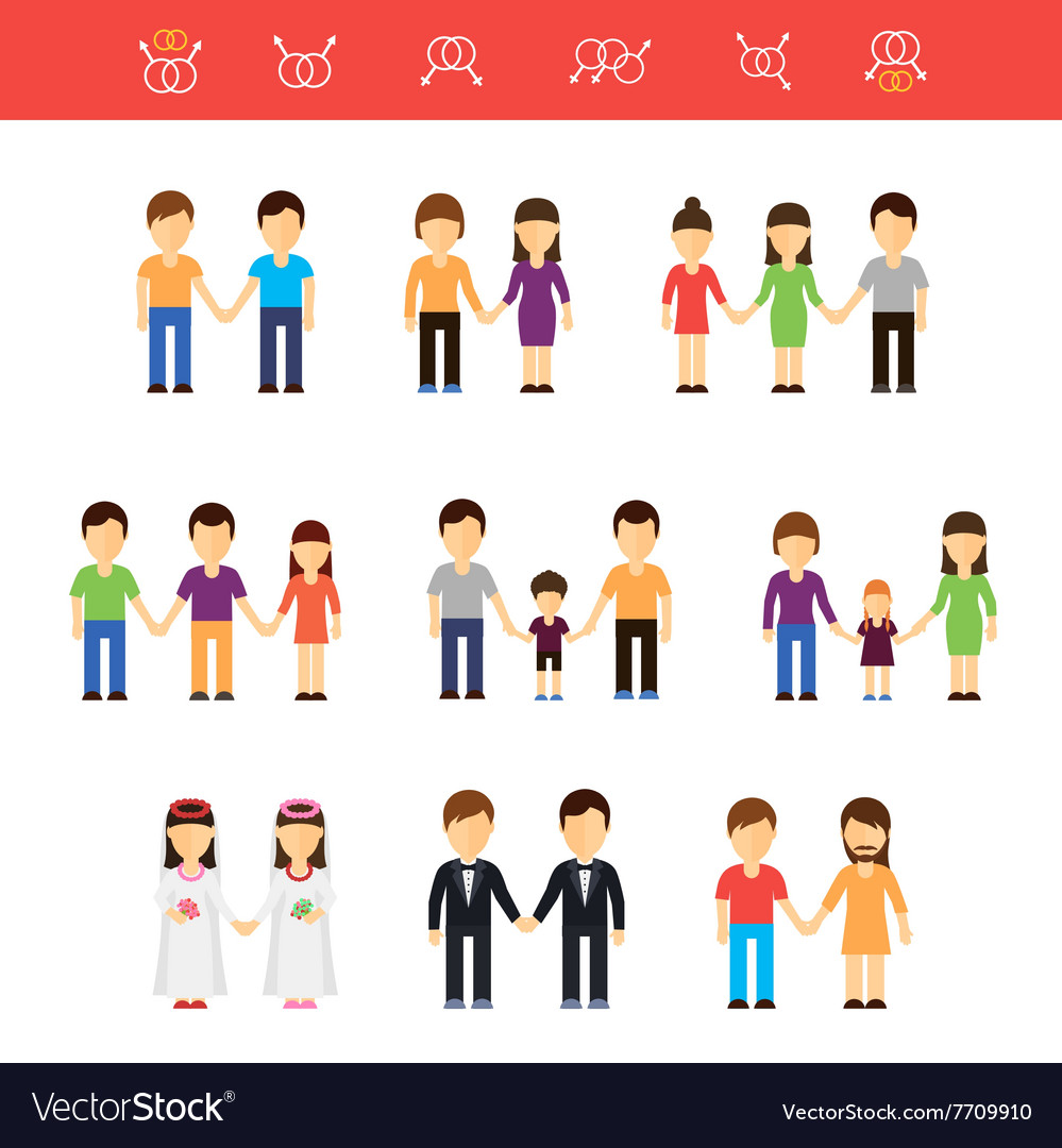Flat of same-sex couples male