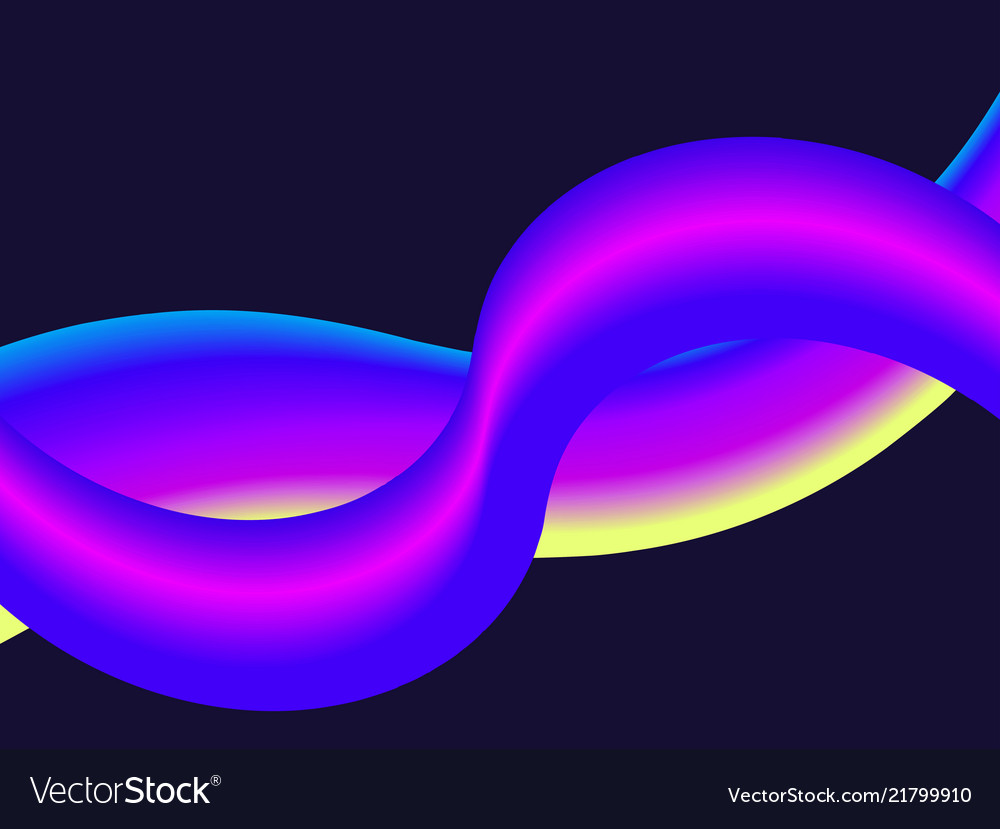 Liquid gradient wave modern abstract background