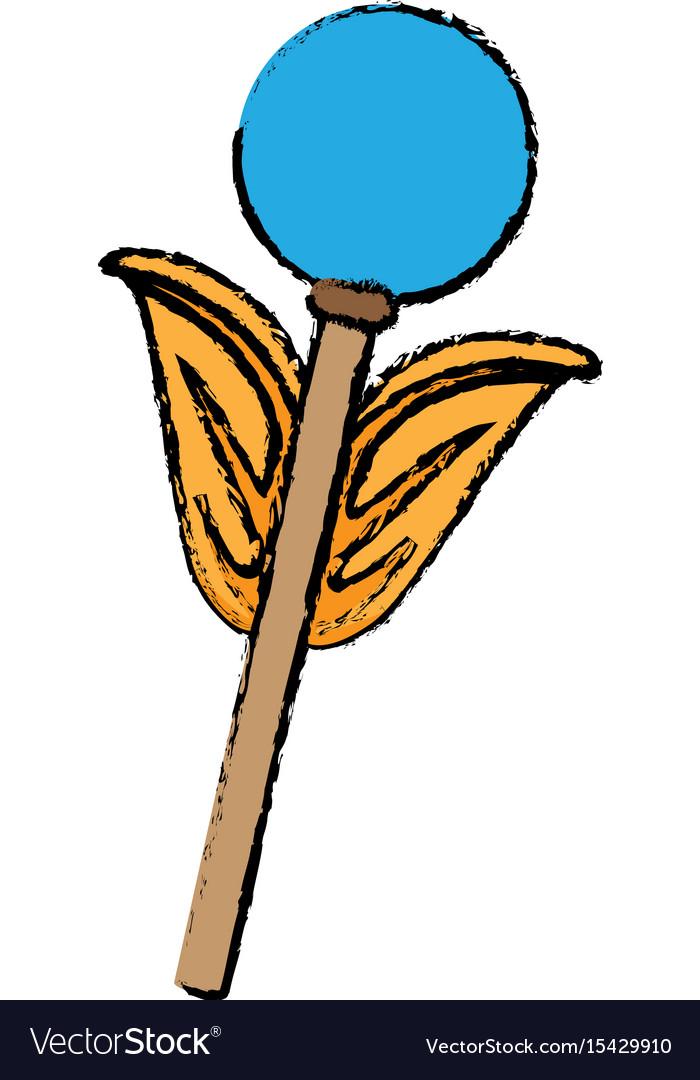 Weapon of superhero power fantasy icon vector image