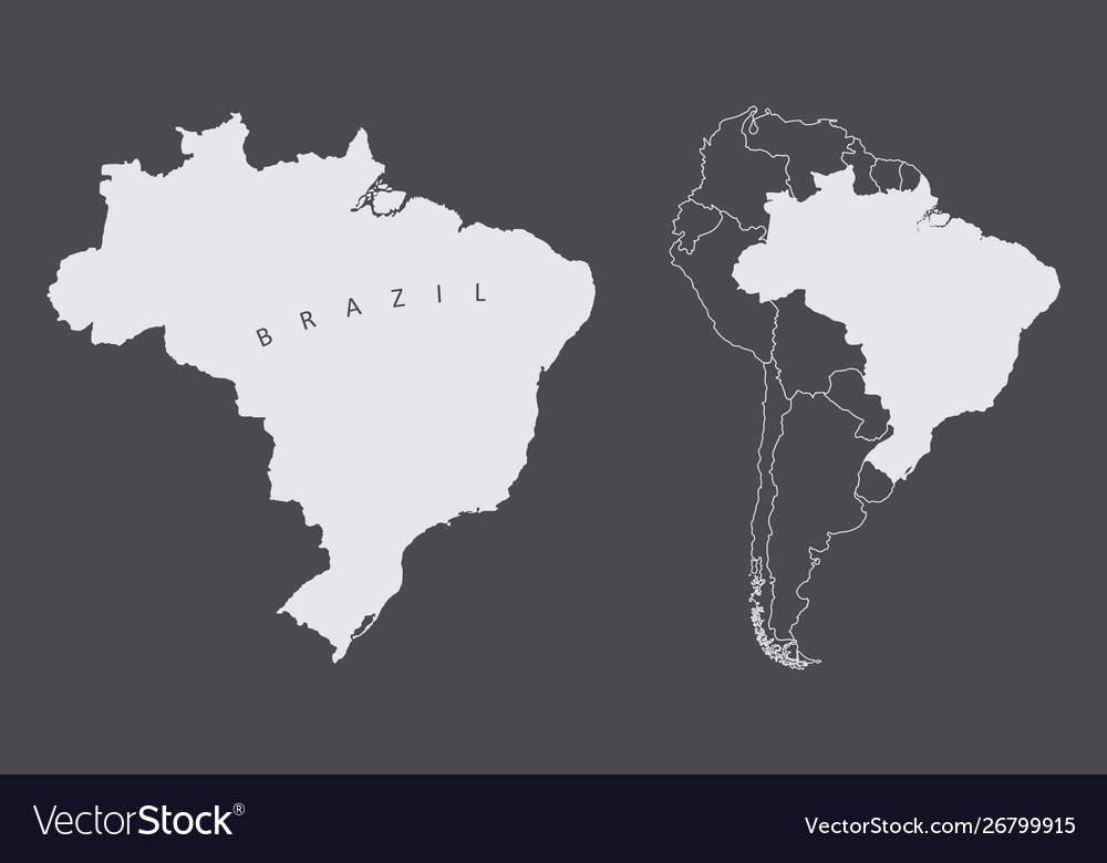 Brazil South America Royalty Free Vector Image